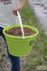 雑草抑制のぼかし堆肥