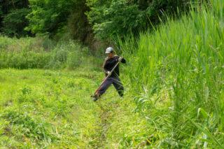 水路の草刈り・清掃